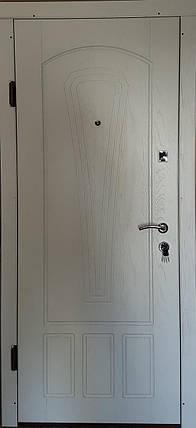 Входная дверь модель П3-334 белая текстура, фото 2