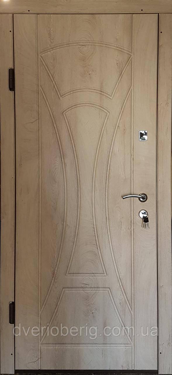Входная дверь модель П3-367 спил дерева ячмень