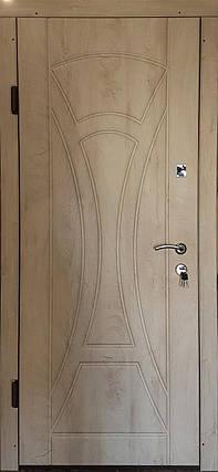 Входная дверь модель П3-367 спил дерева ячмень, фото 2
