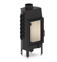 Hitze Albero 9 KW вертикальная, 2 стекла
