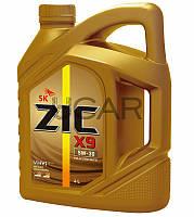 ZIC X9 5W-30 синтетическое моторное масло, 4 л (162614)