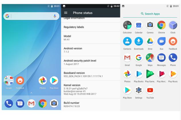 """... Глобальная версия с 4G Xiaomi Mi A1 black 4/64Gb 5.5"""" Snapdragon 625 ..."""