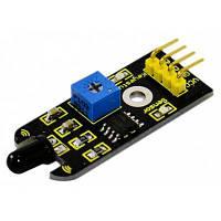 Keyestudio FR-4 плата с датчиком пламени совместимая с Arduino Чёрный