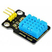 Keyestudio DHT11 модульный датчик температуры и влажности для Arduino Чёрный