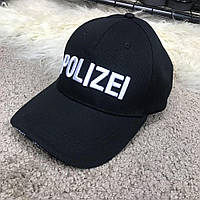 Кепка Baseball Hat Vetements Polizei Black, Копия