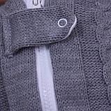 """Теплый кокон """"Weave"""" для новорожденных, серый, фото 4"""