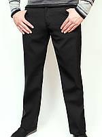 Классические мужские брюки утепленные на флисе.