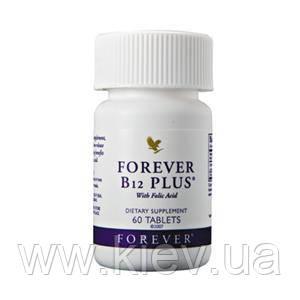Витамин В12 + фолиевая кислота, 60 таблеток, Форевер В12+