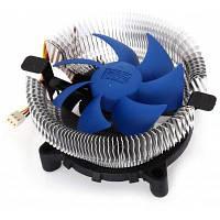 PCCOOLER Qingniao 3 Бесшумной вентилятор охлаждения для ЦП серебристый и синий