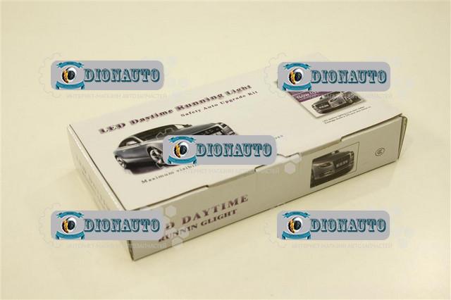 Дневные ходовые огни 9 SMD диодов с функцией дублирования поворота L-218мм (светодиодные фары дневного света)  (DRL-JH 29-9)