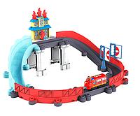Железная дорога Чаггингтон Спасение от пожара с паровозиком Вилсон (Уценка)