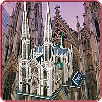 Конструктор-головоломка (3D пазл CubicFun ) Собор Святого Патрика