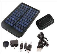 Универсальное Зарядное устройство на солнечной батарее Solar Charger 2600 mAh  для телефонов, планшетов, фотоа