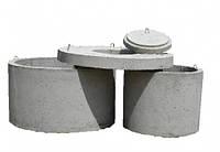 Элементы железобетонных (жби) колодцев, бетонные колодезные кольца