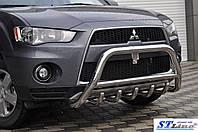 Нержавіючий кенгурин до Mitsubishi Outlander 2008-2013 рр.