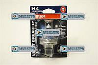 Лампа автомобильная Н4 Р43 12V 60/55W OSRAM NIGHT BREAKER UNLIMITED блистер  (64193 NBU-01B)