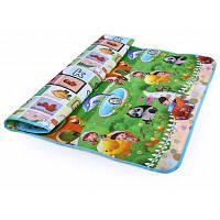 Яркий детский коврик с буквами и зверушками для ползания 200 х 180 см #2