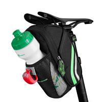 ROCKBROS С7 Устойчивая к царапинам сумка для велосипедного седла Чёрный