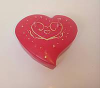 Свечи ко Дню Святого Валентина сердце шкатулка 9*7,5*2,5