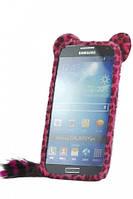 Меховой чехол для Samsung I9500