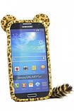 Меховой чехол для Samsung I9500, фото 2