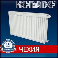 Стальной радиатор отопления (батарея) Korado 500х500, тип 22 боковое подключение