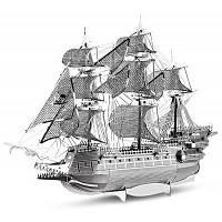 ZOYO Корабль головоломка модуль обучающая игрушка подарок на день рождения Серебристый