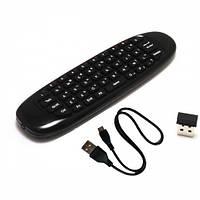 Беспроводную клавиатуру  Air Mouse C120 рус. англ., гироскоп для Smart TV, ПК, Android TV BOX