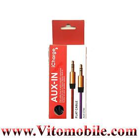 ICharge AUX Nylong в упаковке 1м