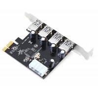 PCIE-USB30-T4B PCI Express USB 3.0 карта расширения на 4 порта Цветной