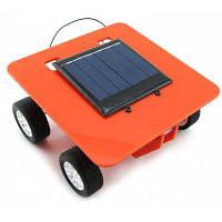 Развивающая DIY игрушка-машинка на солнечной батарее, Model 4 Красный
