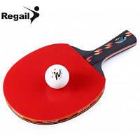 REGAIL D003 настольный теннис пинг-понг ракетки набор Европейская хватка