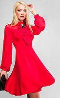 Платье Эмма 3176, (2цв), платье бэбидолл, платье с пышной юбкой, дропшиппинг