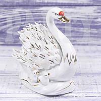 Статуэтка Лебедь с птенцами
