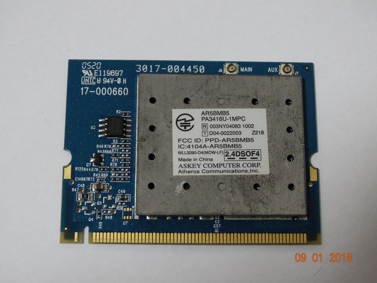 ASKEY AR5BMB5 DRIVER FOR PC