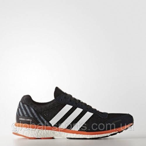 Мужские кроссовки adidas ADIZERO ADIOS 3(АРТИКУЛ: BA7934)