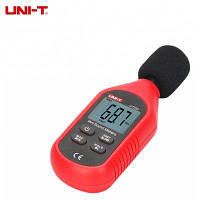 UNI-T UT353 30-130дБ цифровой измеритель уровня шума с ЖК экраном Красный с чёрным