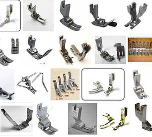 Лапки для промышленных швейных машин