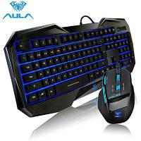 AULA Killing Soul USB Проводная игровая клавиатура / мышь Чёрный
