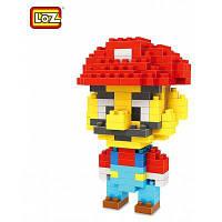 LOZ 160шт M-9338 супер братья марио кубики строительные блоки образовательная детская игрушка для мальчика / девочки подарок для творческого мышления