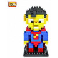 LOZ 120 шт M-9152 Супермен пластмассовые кубики Детская творческая игрушка Подарок для Мальчика / Девочки для развития воображения Цветной