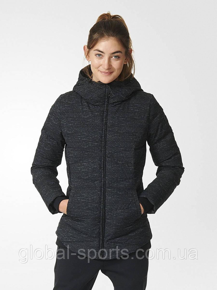 Женский пуховик  Adidas NEO Winter Down Reflective Jacket Coat(Артикул:AY9829)