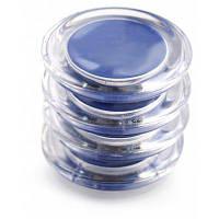 FUNI CT-999 Набор круглых магнитных стикеров 4 штуки Синий