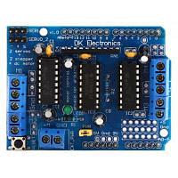 L293D печатная плата электродвигателя плата расширения для Arduino Синий