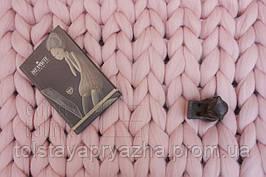 Плед из шерсти (цвет светло-розовый) 0,6х1,2 м