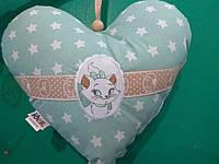 Декоративная подушка  Сердце 35*30