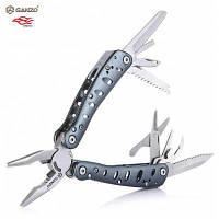 Нож ganzo с g101-Н, складной плоскогубцы с 10шт биты отвертки Синий