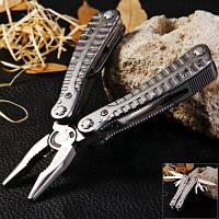 Клавиатура g105 складной нож ganzo плоскогубцы с 10шт биты отвертки Серый