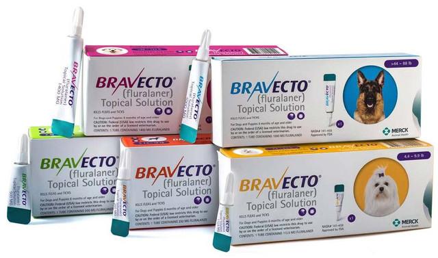Bravecto Spot-On (Бравекто) Капли от блох и клещей для собак