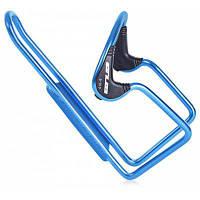 Губ алюминиевого сплава Прокат велосипедов держатель бутылки Синий